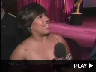 Chandra Wilson at the Emmy nominations