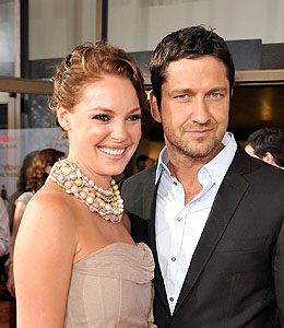 katherine heigl and gerard butler evacuated