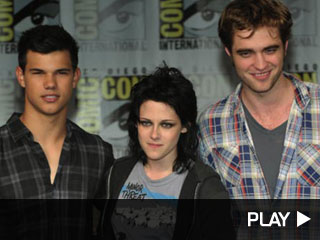 Taylor Lautner, Kristen Stewart and Rob Pattinson