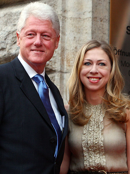 bill clinton and chelsea clinton