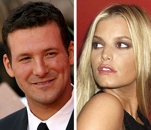 tony romo two-timed jessica simpson