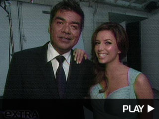 Eva Longoria and funny guy George Lopez
