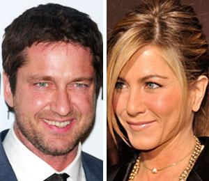 Gerard Butler can't wait to kiss costar Jennifer Aniston