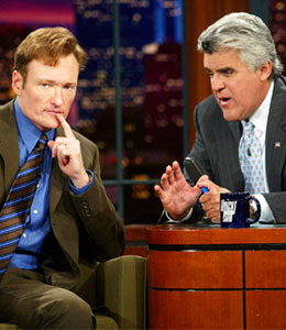 Jay Leno is talking for the first time since he passed 'The Tonight Show' baton to Conan O'Brien.