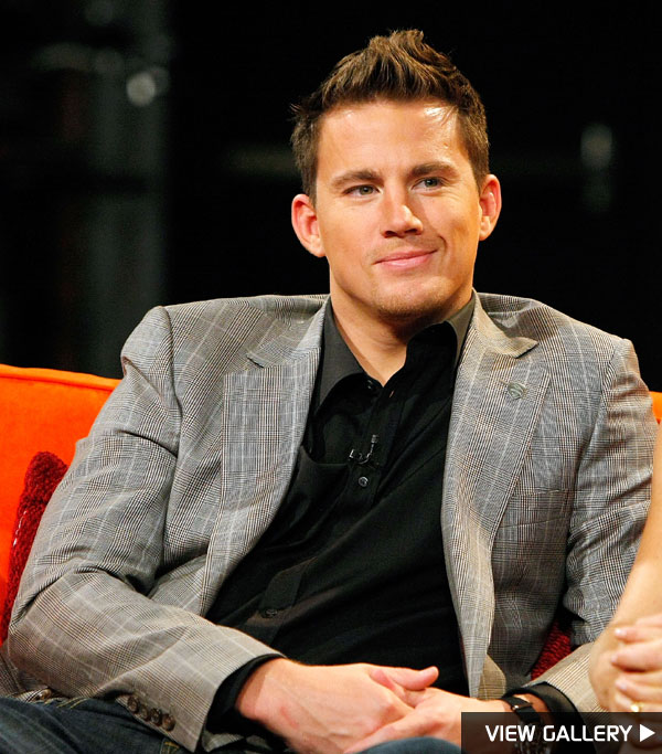 Channing Tatum is looking hotter than ever!