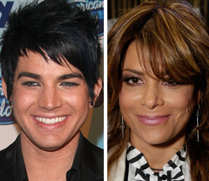 Former 'American Idol' contestants Adam Lambert and Constantine Maroulis and other celebs tell 'Extra' they don't want Paula Abdul leave 'Idol'