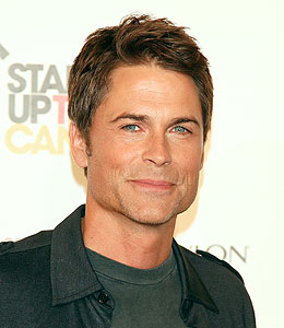 how rob lowe overcame his tough year