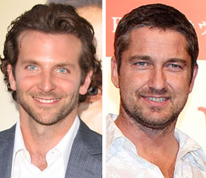 Sexy Bradley Cooper and strapping Gerard Butler are summer's hottest men -- and 'Extra's' got 'em!