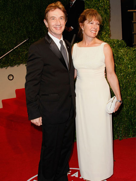 martin short and wife