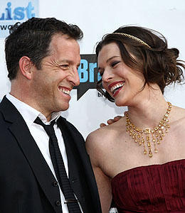 milla jovovich gets married