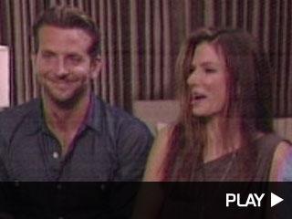 Sandra Bullock, Bradley Cooper and Thomas Hayden Church