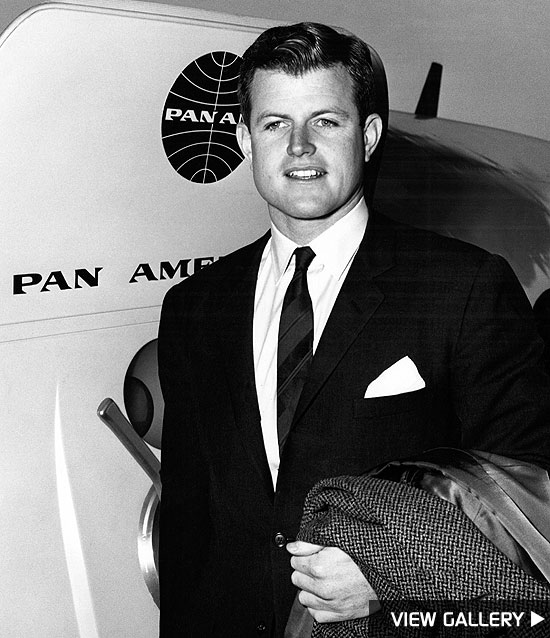 remembering ted kennedy in photos