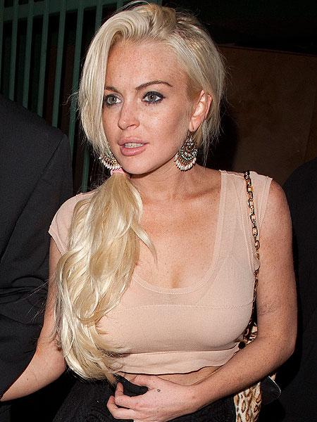 Lindsay lohan shhh tattoo celebrity