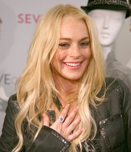 Lindsay Lohan loves True Blood