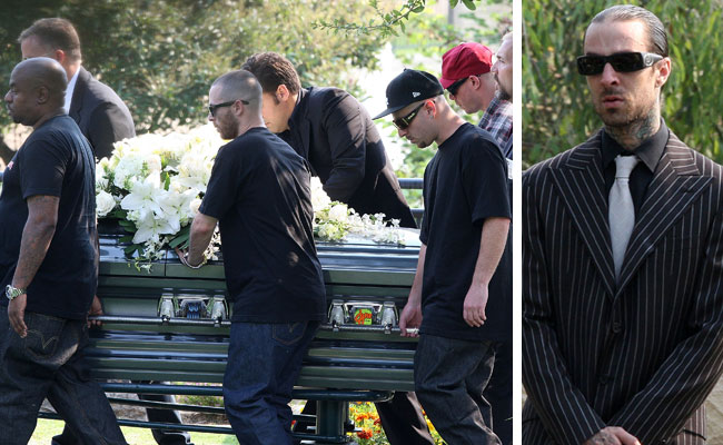 DJ AM funeral in L.A.