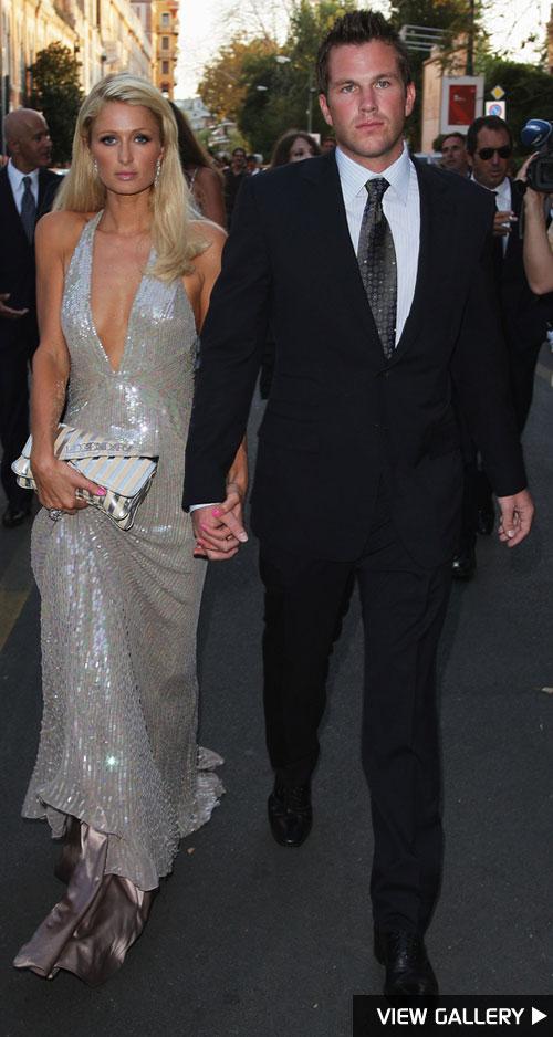 Paris Hilton and Doug Reinhardt at the Venice Film Festival