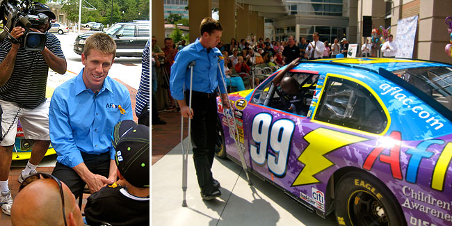 carl edwards cancer patient