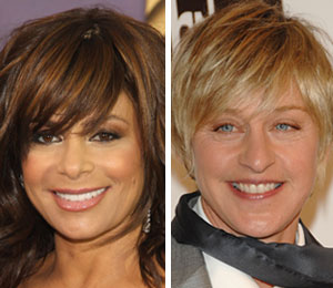 Paula Abdul wishes Ellen the best of luck on American Idol