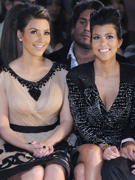 kim kardashian and kourtney