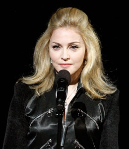 Madonna's tribute to michael jackson