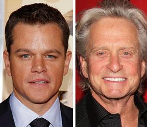 Matt Damon's next on-screen love interest will be played by Michael Douglas