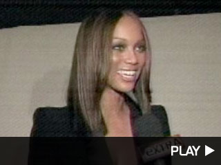 Tyra Sheds Pounds -- and Furniture!