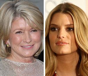 Martha Stewart Crafts Apology to Jessica Simpson