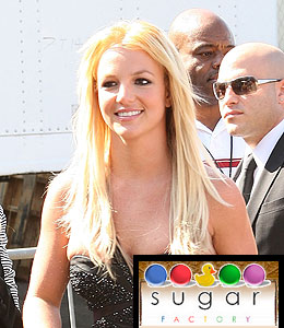 britney spears sugar factory candy