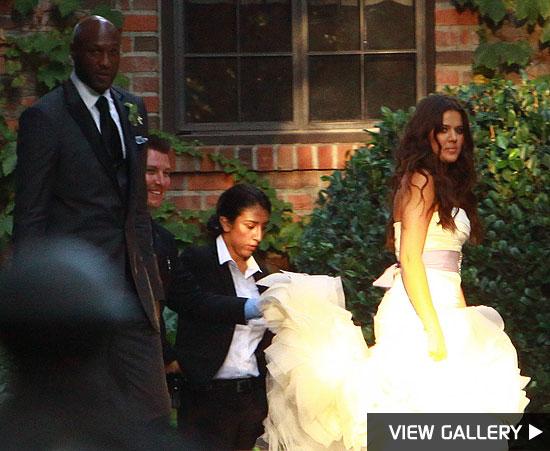 Khloe Kardashian And Lamar Odom Get Hitched