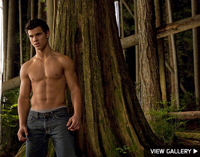 taylor lautner twilight body