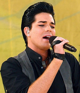 Adam Lambert's debut album doesn't drop until November, but it's already burning up the charts!