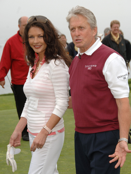 catherine zeta jones and michael doulgas