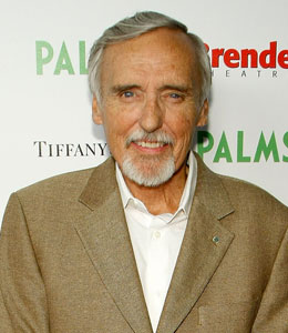 Veteran actor Dennis Hopper has been sent to the hospital in New York