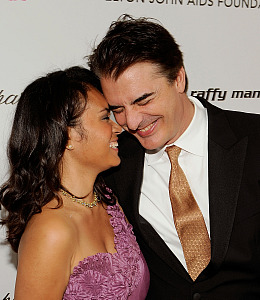 chris noth engaged married
