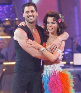 It was a surprise double elimination on Tuesday night when 'Entourage' actress Debi Mazar and Former politician Tom DeLay said goodbye to 'Dancing with the Stars.'