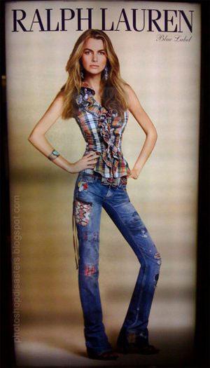 Blog and Ralph Lauren Fight over Skinny Model Ad