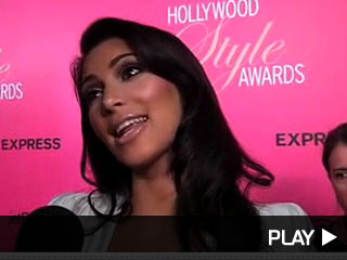 kim kardashian style awards