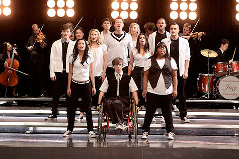 glee cast world series