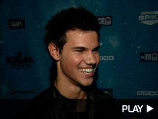 Taylor Lautner at Scream Awards