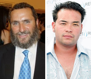 Rabbi Shmuley and Jon Gosselin debate fame