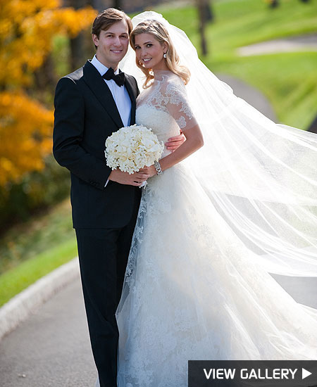 ivanka trump wedding reception