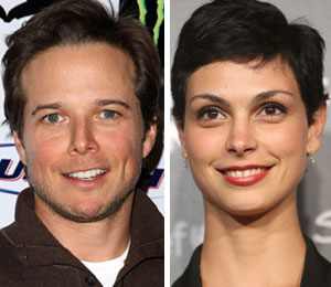 Scott Wolf and Morena Baccarin talk about 'V'
