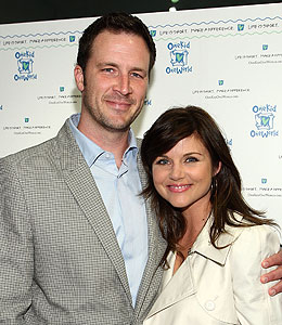 tiffani thiessen pregnant