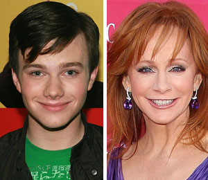 Chris Colfer wants Reba McEntire on Glee