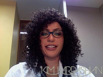 Kim Kardashian mask