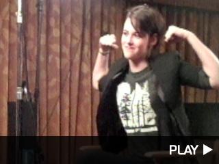 Kristen Stewart Flexing