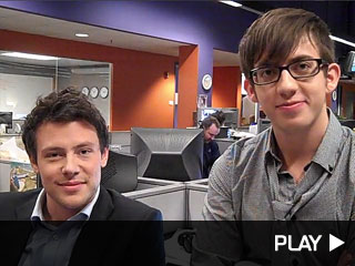 cory monteith kevin mchale