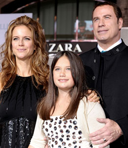 The Travolta family thank fans at Florida fundraiser