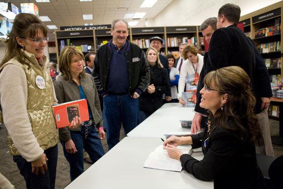 Sarah Palin meets look-alike
