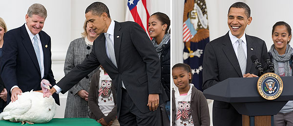 president obama turkey pardon